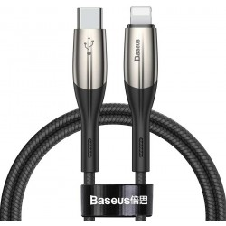 کابل تبدیل USB-C به لایتنینگ Baseus مدل Horizontal PD Flash (2متر)
